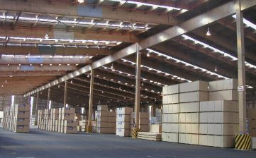 Warehousing services offered by APT Logistics in India.